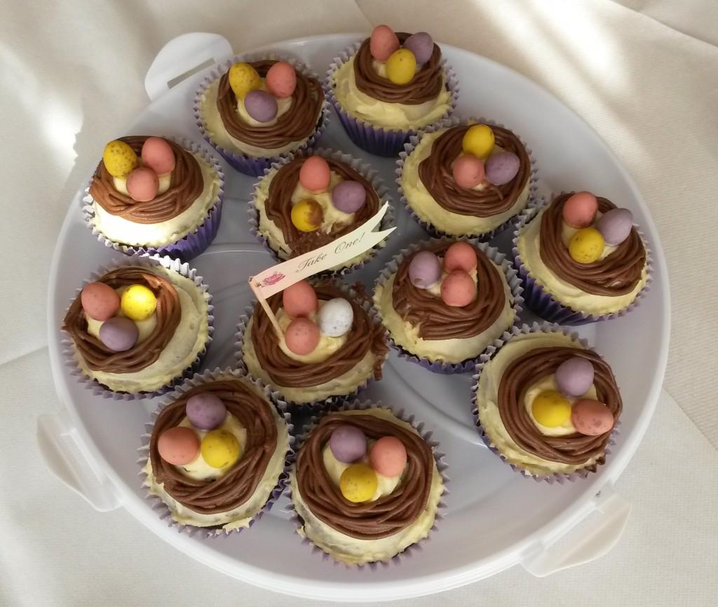 7 SG Nest Cupcakes